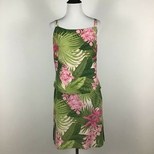 Tommy Bahama 100% Silk Lined Tank Skirt Set 10